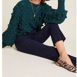 NWT Anthro The Essential Corduroy Cropped Flare